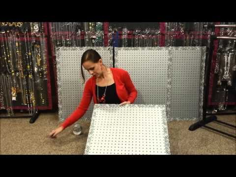 Instructions for the easiest paparazzi display youtube for Paparazzi jewelry display case