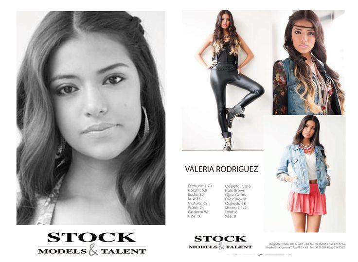 Valeria Rodríguez - Modelo Stock Models -