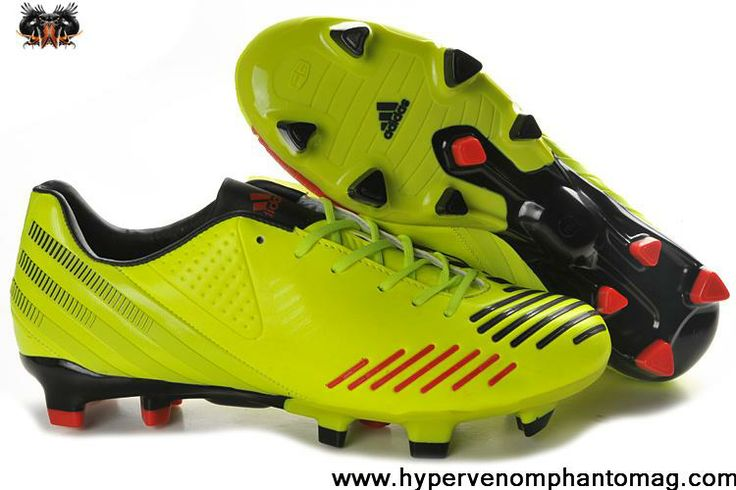 Adidas Predator LZ TRX FG - Electricity-Black-Infrared Football Shoes For SaleFootball Boots For Sale