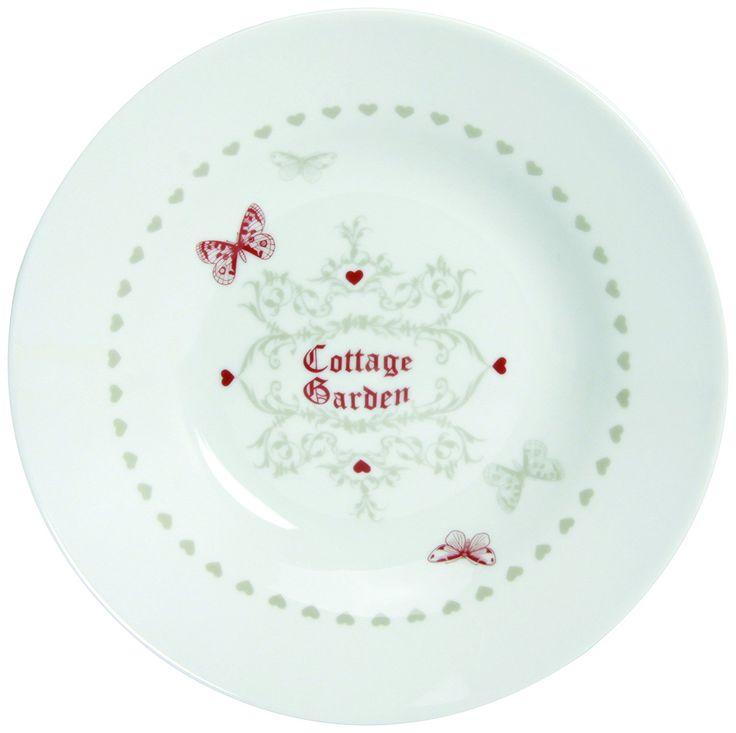 Novastyl - 7039205 - Cottage Garden - Assiettes - Lot de 6: Amazon.fr: Cuisine & Maison