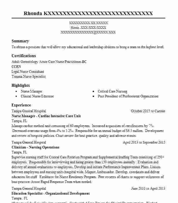 Pin On Nurse Cv Resume Templates
