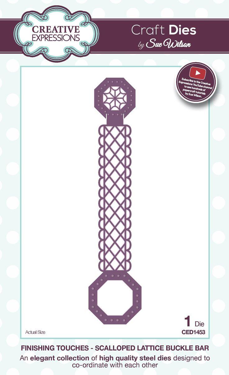 scalloped lattice buckle bar - finishing touches