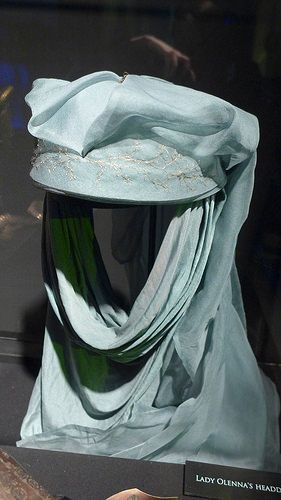 "From ""Game of Thrones"" worn by Diana Rigg as Lady Olenna Tyrell  design by Michele Clapton"