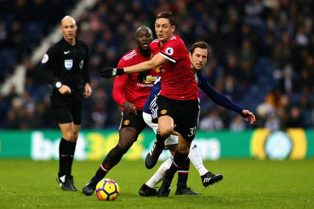 Nemanja Matic Of Manchester United In Action During The