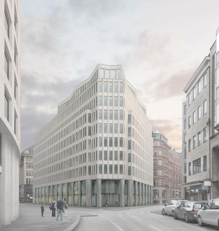 Caruso St John gewinnen in Hamburg / Büroexpressionismus - Architektur und Architekten - News / Meldungen / Nachrichten - BauNetz.de