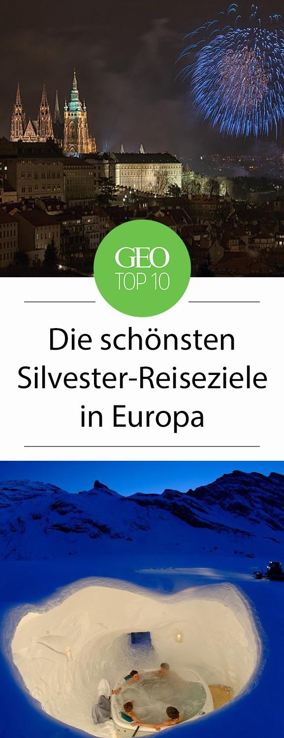 Top-Ten: Silvester-Reiseziele in Europa 2018: Zermatt: Erholung im Iglu-Dorf
