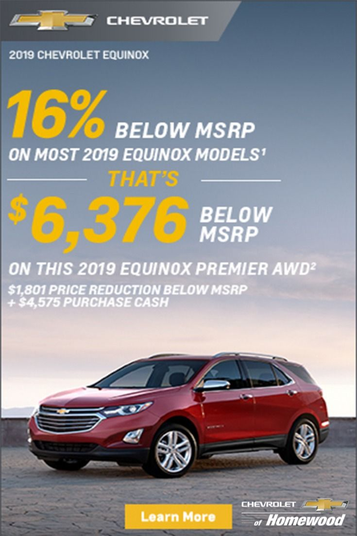 New Chevy Equinox For Sale In Homewood New Chevy Equinox New
