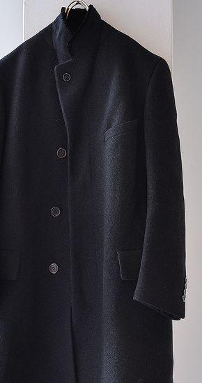 1930s Vintage Bespoke Wool Chester Field Coat ヴィンテージチェスターフィールドコート - ANNE-TRE