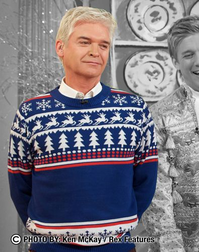 As Seen On This Morning wearing a Cheesy Christmas Jumper #christmas #jumpers #sweater