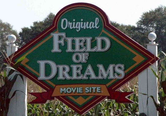 Dyersville, IA  --  Field of Dreams Movie Site  Really liked visiting...been here twice.