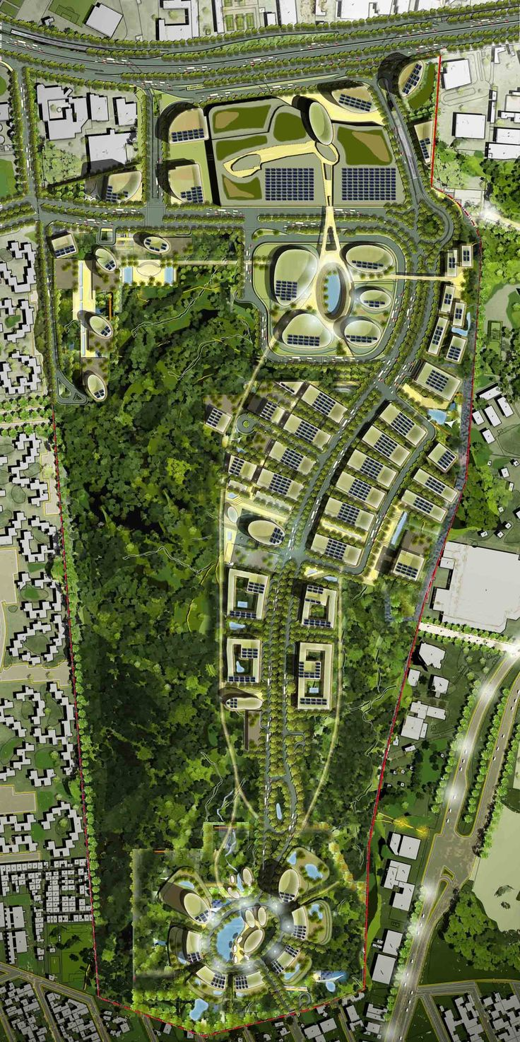 Campus Biometropolis masterplan | Projects | Foster + Partners