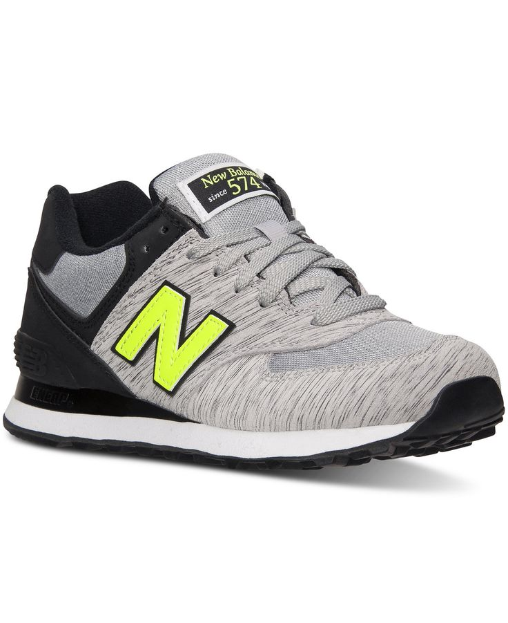 New Balance Women\u0027s 574 Sweatshirt Casual Sneakers from Finish Line -  Finish Line Athletic Shoes -