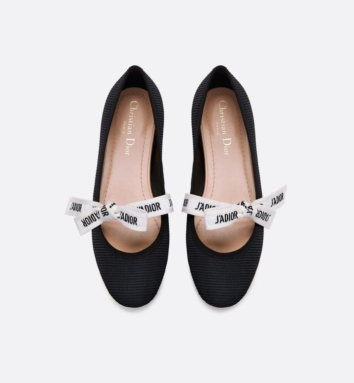 95bdee965 Miss J'Adior technical canvas ballet pump in 2019 | CDior | Dior ...