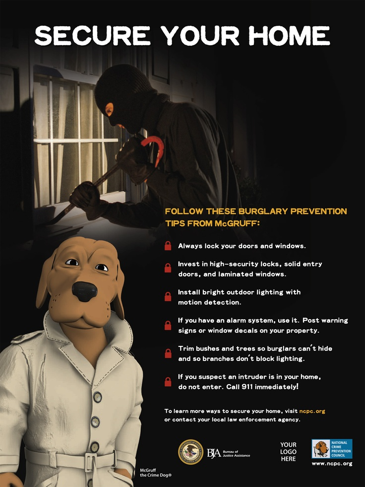 Basic Burglary Prevention Tips