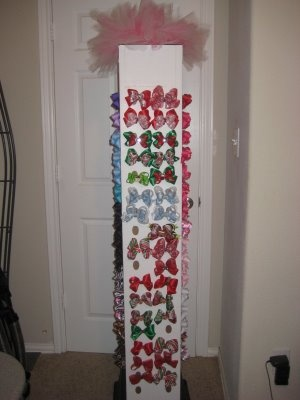 Display Hair Bow Holder | Cupcake Clips: 1st Craft Show...