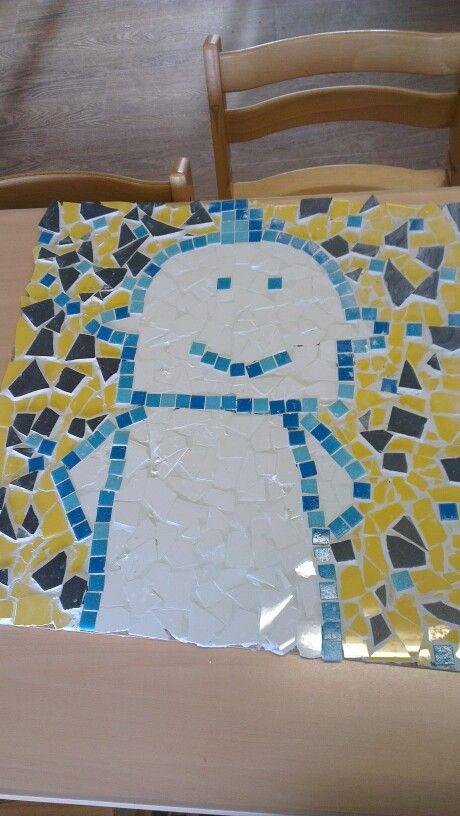 Mozaieken leuk voor personeels/teambuilding of met de kinderen