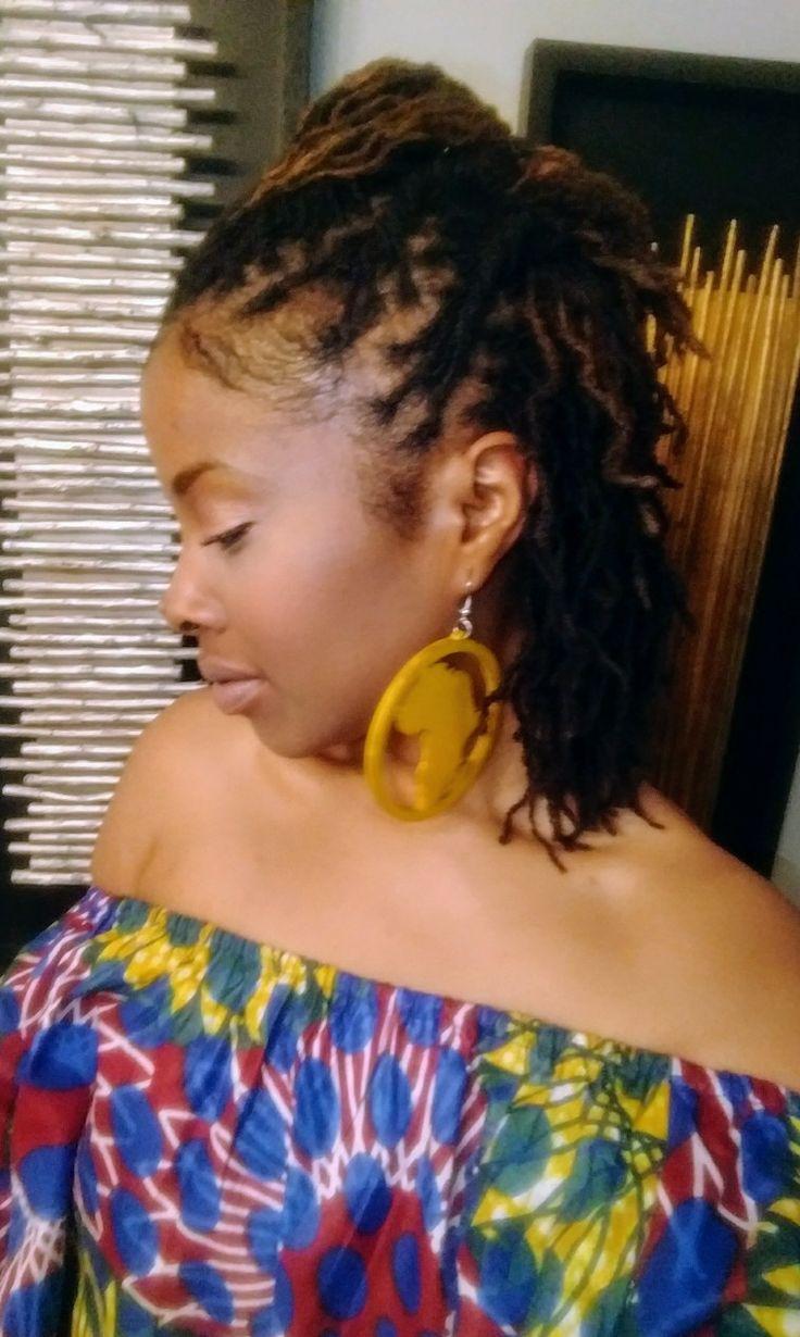 best beautiful loc hair styles images on pinterest dreadlock