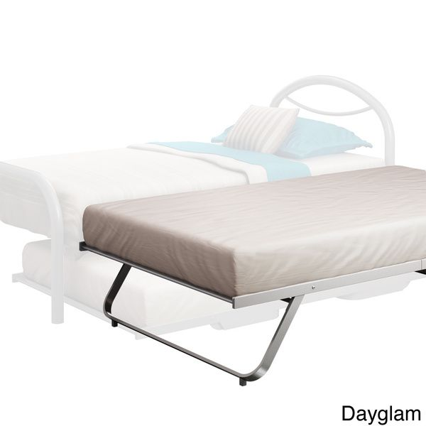 Amisco Solid Steel Folding Trundle Bed   Overstock Shopping   Great Deals On  Amisco Kidsu0027