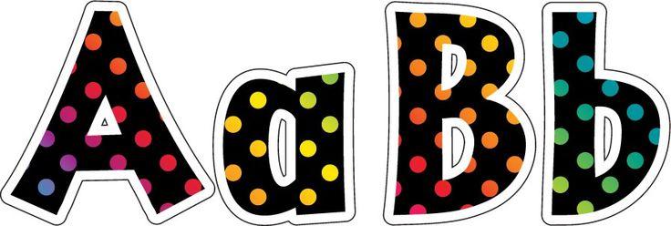 Over the Rainbow Lettering 5cm | Alphabet Lettering