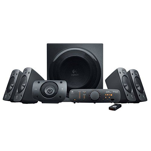 Logitech Z-906 - speaker system - for home theatre