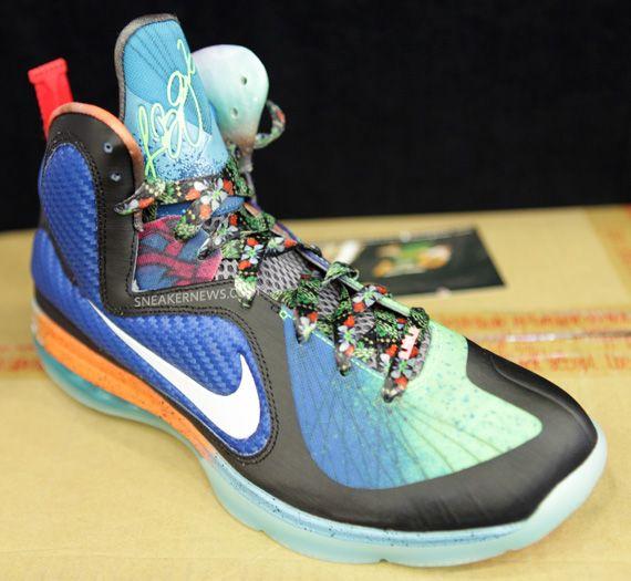 What The Nike LeBron 9