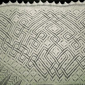Wedding shawl.