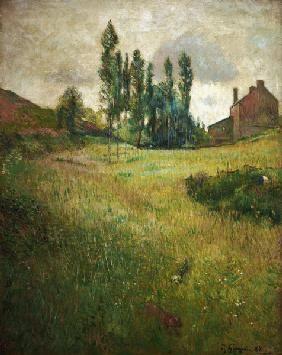 Gauguin Paul - Dogs on a loan