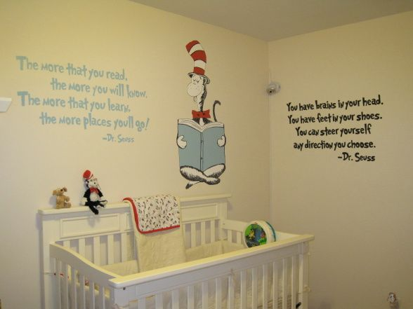 Seuss Nursery, This Space Is Our Daughters Nursery. We Chose A Dr. Seuss  Theme, Which I Think Works Well For Either Gender.