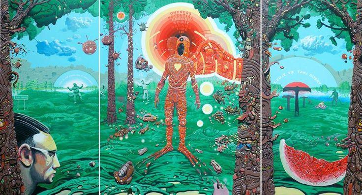 szczegóły: http://galeria.skytower.pl/wydarzenia/1468-magiczne-sny-waldemara-borowskiego-w-galerii-dna.html To już dziś! Zapraszamy wszystkich o godzinie 19.00 do Galerii DNA na wernisaż wystawy Waldemara Borowskiego! Niecodzienna okazja, aby osobiście się spotkać i porozmawiać z artystą!