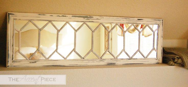 mirror made from standard door mirror