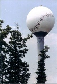 Baseball Tower Fort Mill, SC | ... sc 2000 the baseball water tower at knights stadium fort mill sc 2000