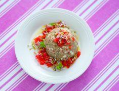 Paté alla menta di melanzane e tofu con pomodori - Tutte le ricette dalla A alla Z - Cucina Naturale - Ricette, Menu, Diete