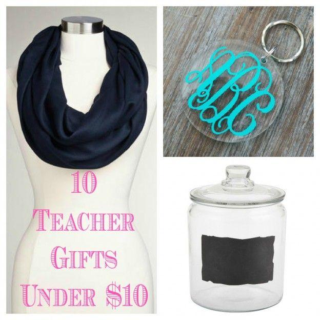 Teacher Gift Ideas Under $10