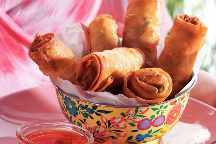 Vegetarische loempia's (Vietnam) - Recept - Allerhande