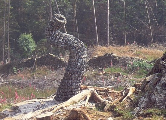 Attractive Chris Booth · Land Art