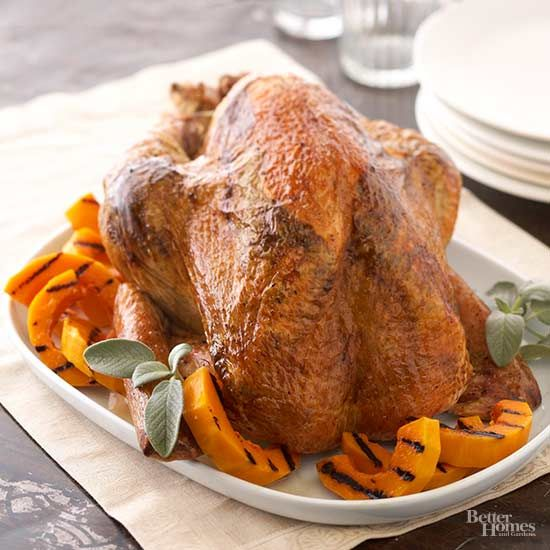 Have you ever considered grilling the Thanksgiving bird?