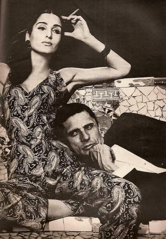 1965   Avedon & Naty Abascal in Ibiza