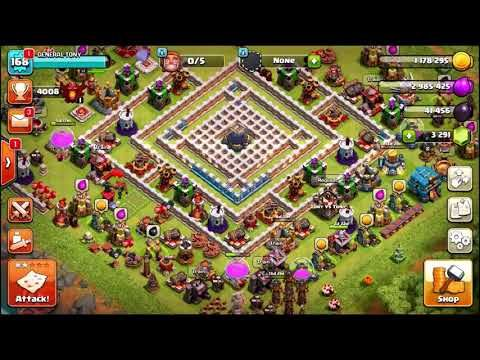 ONE TROOP vs TH12 IMPOSSIBLE MAZE BASE! Clash Of Clans