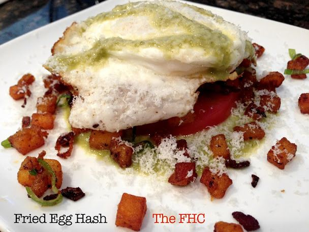 The Fire House Chef: Fried Egg and Potato Hash | Breakfast of ...