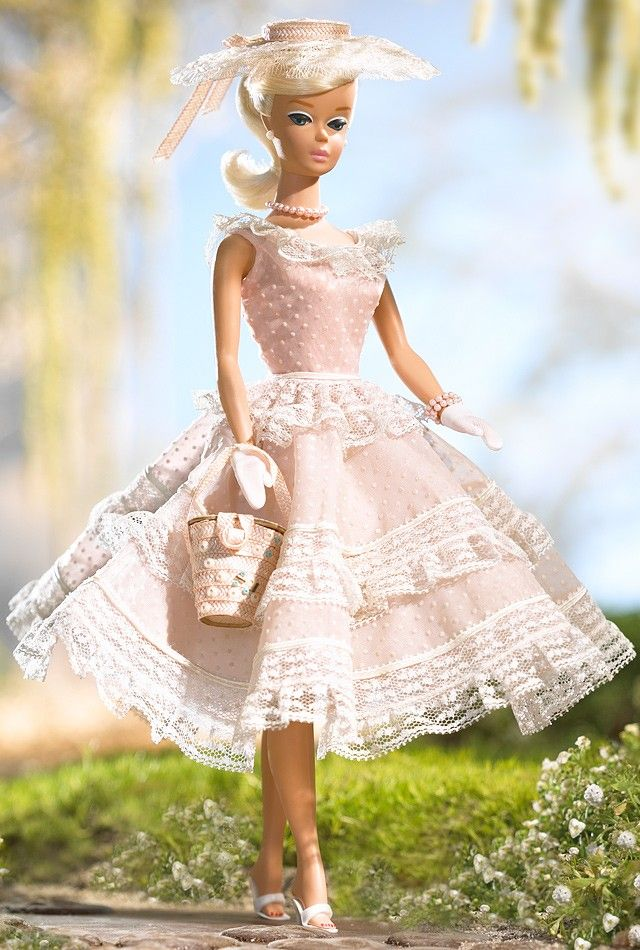 Plantation Belle Barbie Doll - Vintage Reproduction Dolls | Barbie Collector(♥)In My Collection(♥)