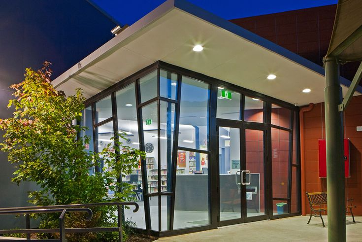 Light filled Library Learning Centre built to improve comfort.  Architect: Greg Swankie