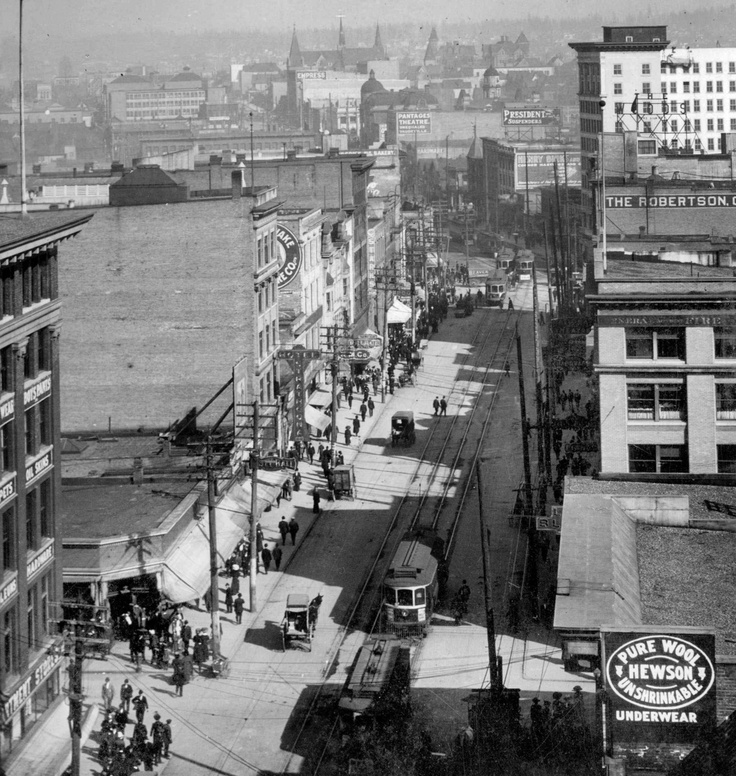East Hastings, 1910's: a world away.