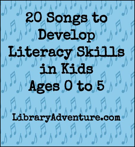 Singing with little ones is a fun and easy way to help them develop literacy skills long before they're ready to sit down and read a book. You can make sing-alongs a regular part as you go through your day.