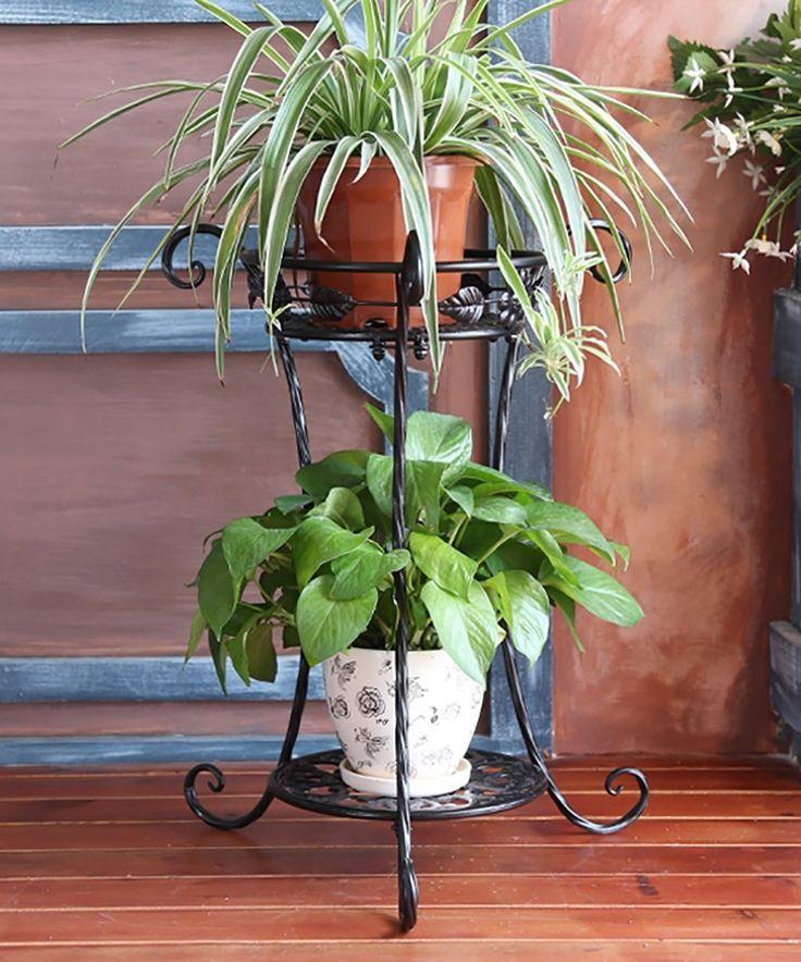 Blumenständer Europäischer Stil Kreativer Eisen Balkon Schreibtisch Blumentöpfe Regal Pflanze Stand ( farbe : Weiß , größe : 50 cm ): Amazon.de: Garten