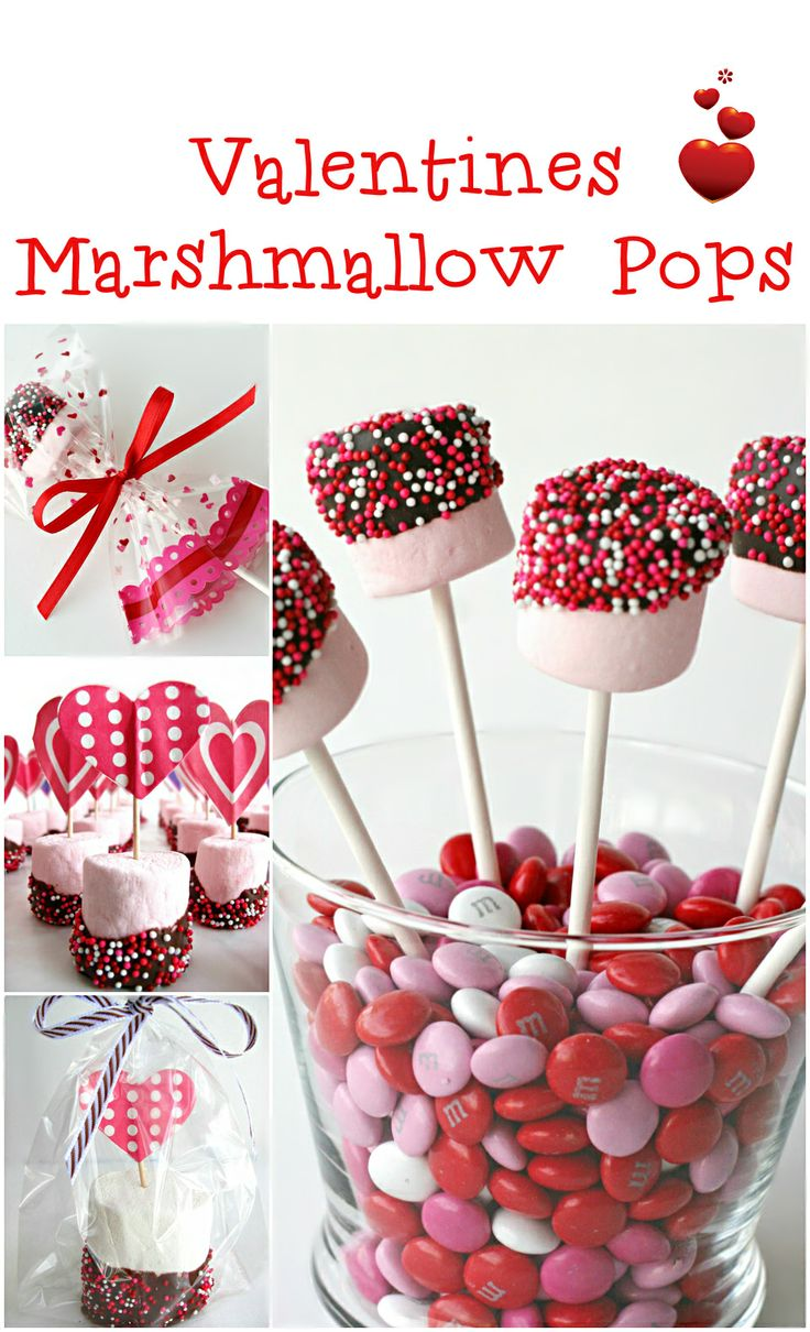 Party Recipe ● Valentine's Marshmallow Pops