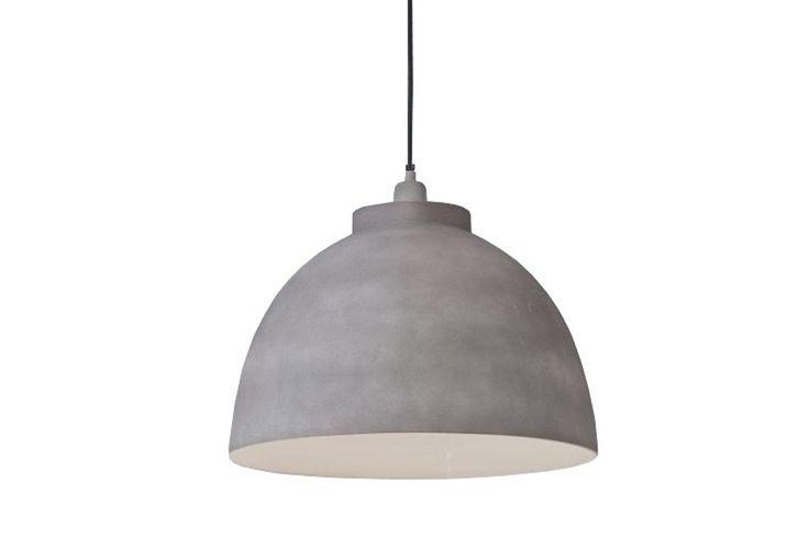 Hanglamp Kylie cement finish 45cm