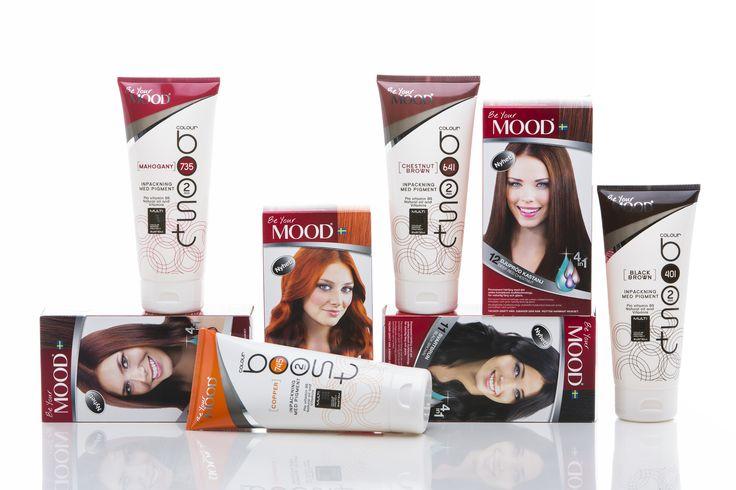 BOOST Your MOOD! Håll liv i din hårfärg, använd en pigmenterad inpackning mellan färgningarna.