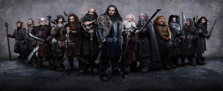 The Hobbit   (L-r) Jed Brophy as Nori, DEAN O'GORMAN as Fili, Mark Hadlow as Dori, JAMES NESBITT as Bofur, PETER HAMBLETON as Gloin, GRAHAM McTAVISH as Dwalin, RICHARD ARMITAGE as Thorin Oakenshield (center), KEN STOTT as Balin, JOHN CALLEN as Oin, STEPHEN HUNTER as Bombur, WILLIAM KIRCHER as Bifur, Adam Brown as Ori and AIDAN TURNER as Kili in New Line Cinema's and MGM's fantasy adventure THE HOBBIT: AN UNEXPECTED JOURNEY, a Warner Bros. Pictures release. (Photo by James Fisher)