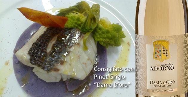 Questo mese scopriamo come cucinare un ottimo Branzino con patate viola, broccolo e carciofi. Clicca sul link per leggere la ricetta e il vino consigliato. www.marcheseadorno-wines.it