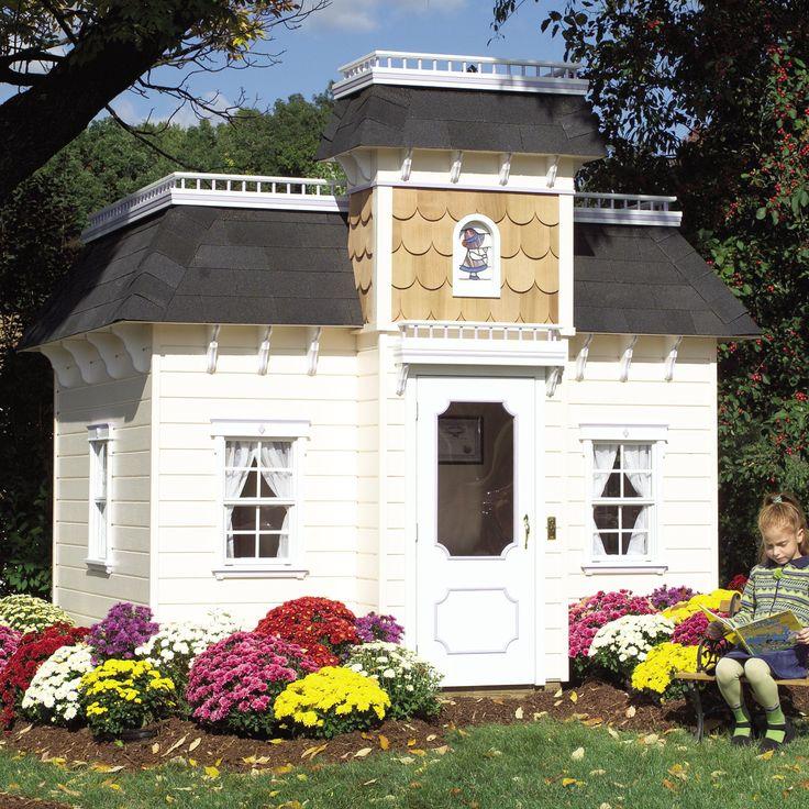 Victorian Mansion Playhouse